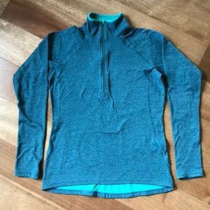 Patagonia Capilene baselayer, M, teal blue